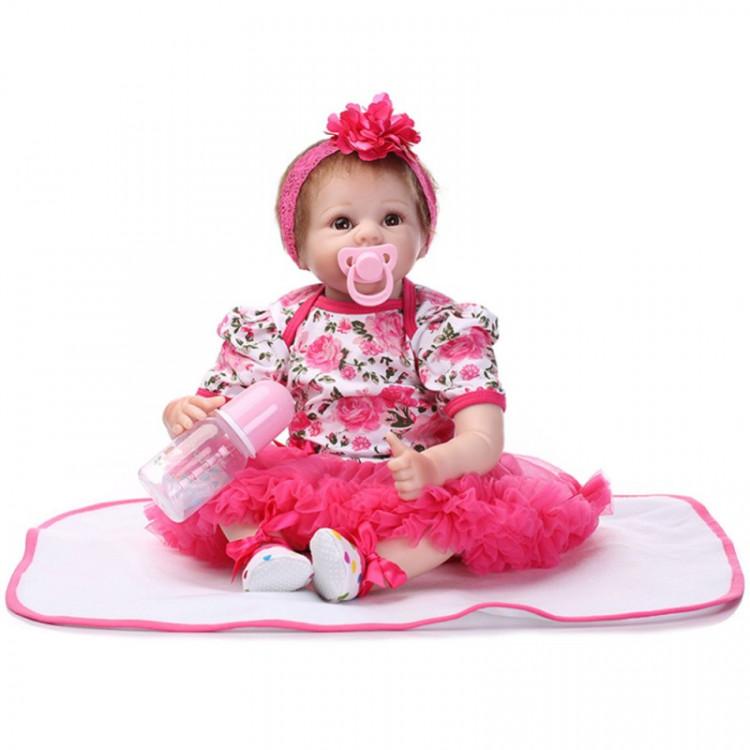 Boneca Bebê Real Reborn Kimberly.  Ref. 2022