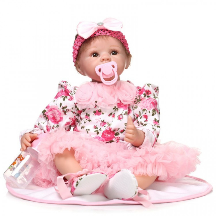 Bebê Reborn Merlinda com kit enxoval. REF20060789